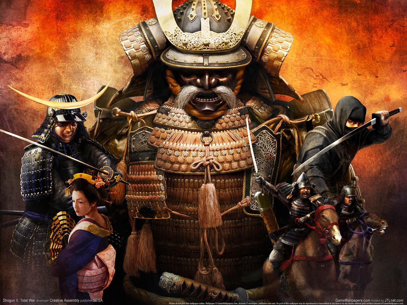 Total War Shogun 2.